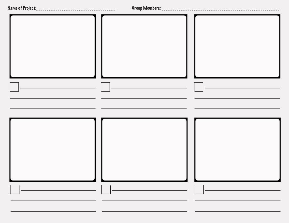 tv storyboard template - Romeo.landinez.co